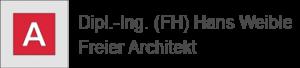 logo-hans-weible freier architekt